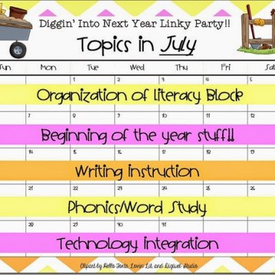 Literacy Block Organization