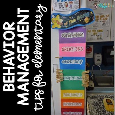 The Behavior Management Post and a FREEBIE!!
