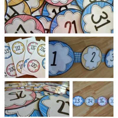 How to assemble a number line Graham style!!