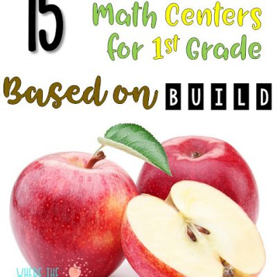 15 September Math Centers for 1st Grade