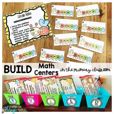 BUILD Math Centers in the Primary Classroom
