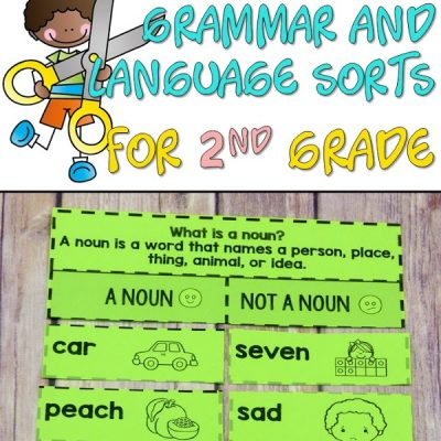 Grammar sorts for 2nd grade