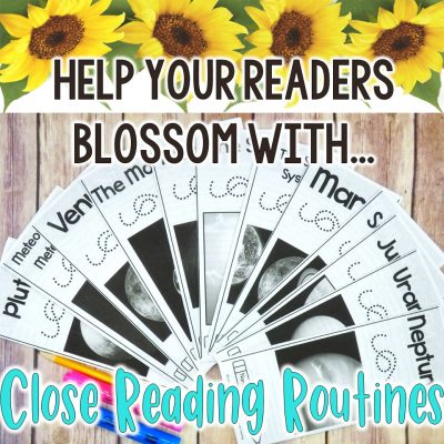 5 Tips – How to Do Close Reading with Emergent Readers