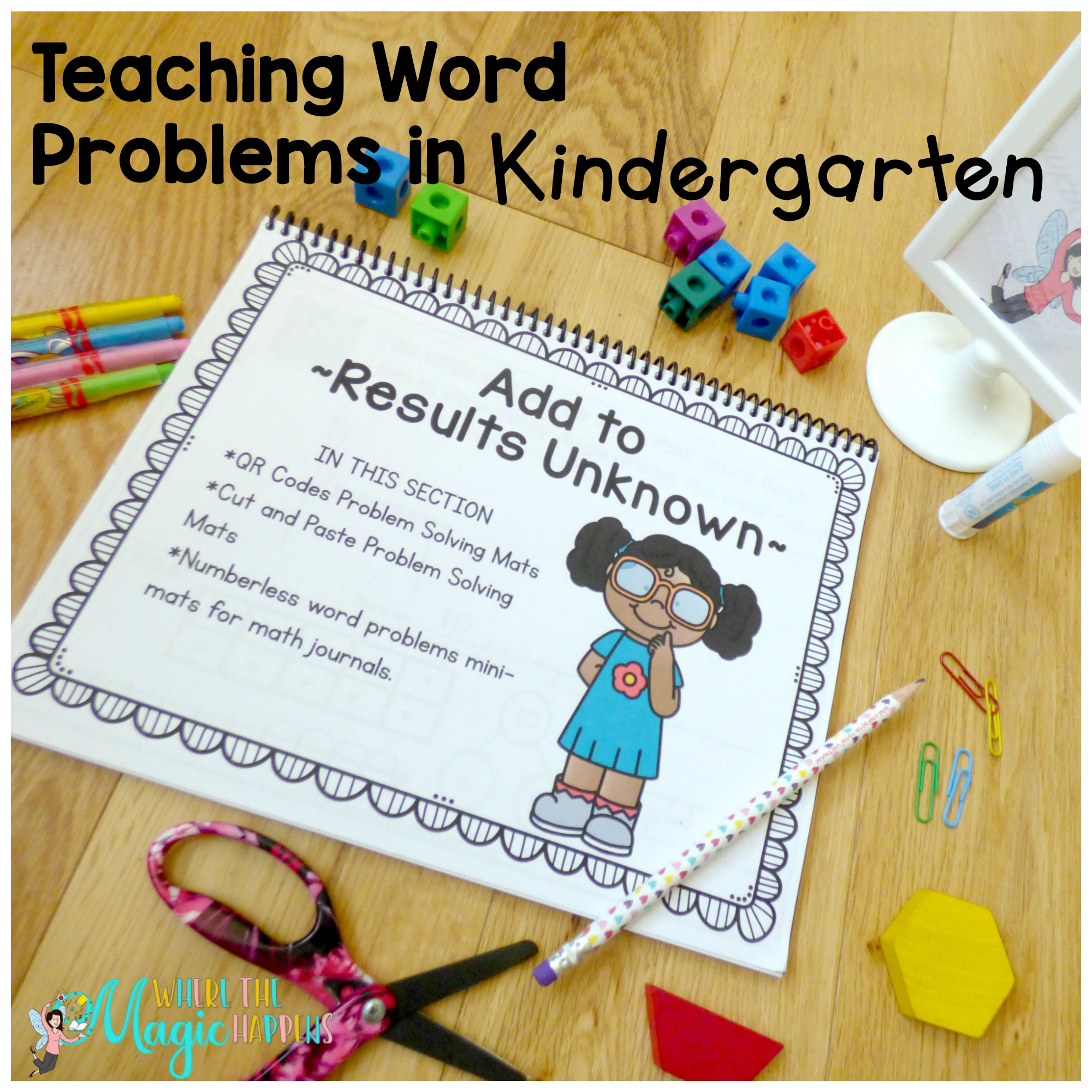 Teaching Word Problems in Kindergarten - Where the Magic Happens