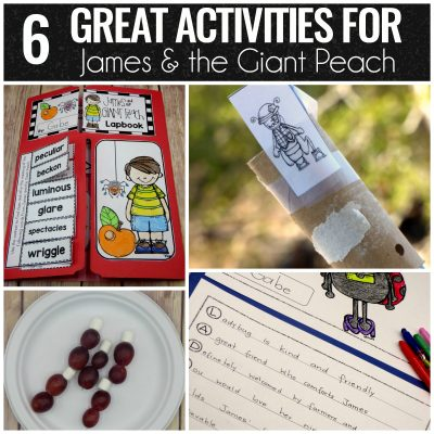 Six Great Activities for James and the Giant Peach