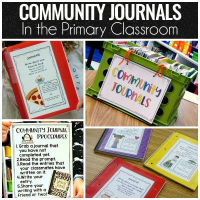 Community Journals in the Primary Classroom