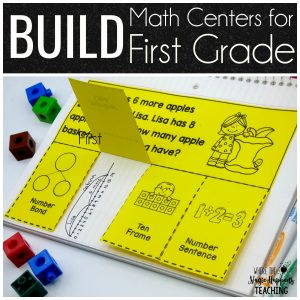 BUILD Math Centers for 1st Grade
