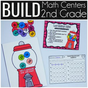 BUILD Math Centers 2nd Grade