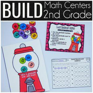 BUILD Math Centers 2nd Grade
