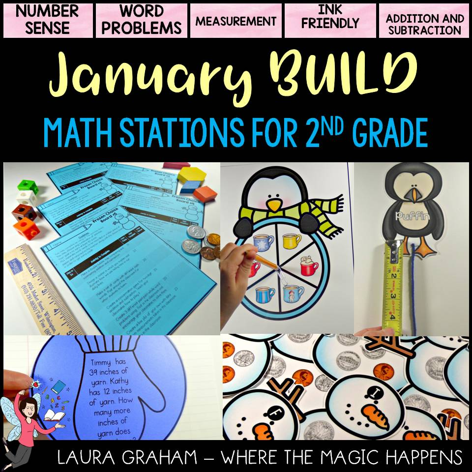 Math centers for 2nd grade