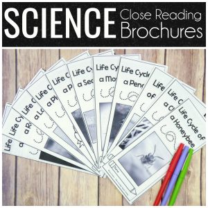 Science Close Reading Brochures