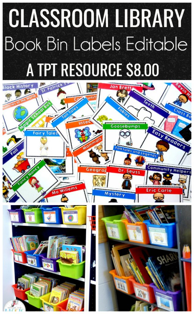 Classroom Library Labels - Where the Magic Happens