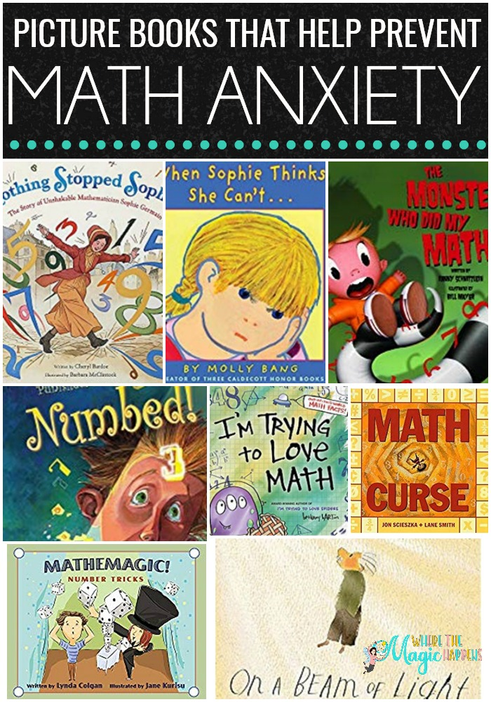 Picture Books that Help Prevent Math Anxiety - Where the