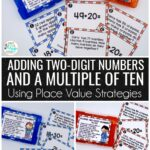 math task cards for first grade