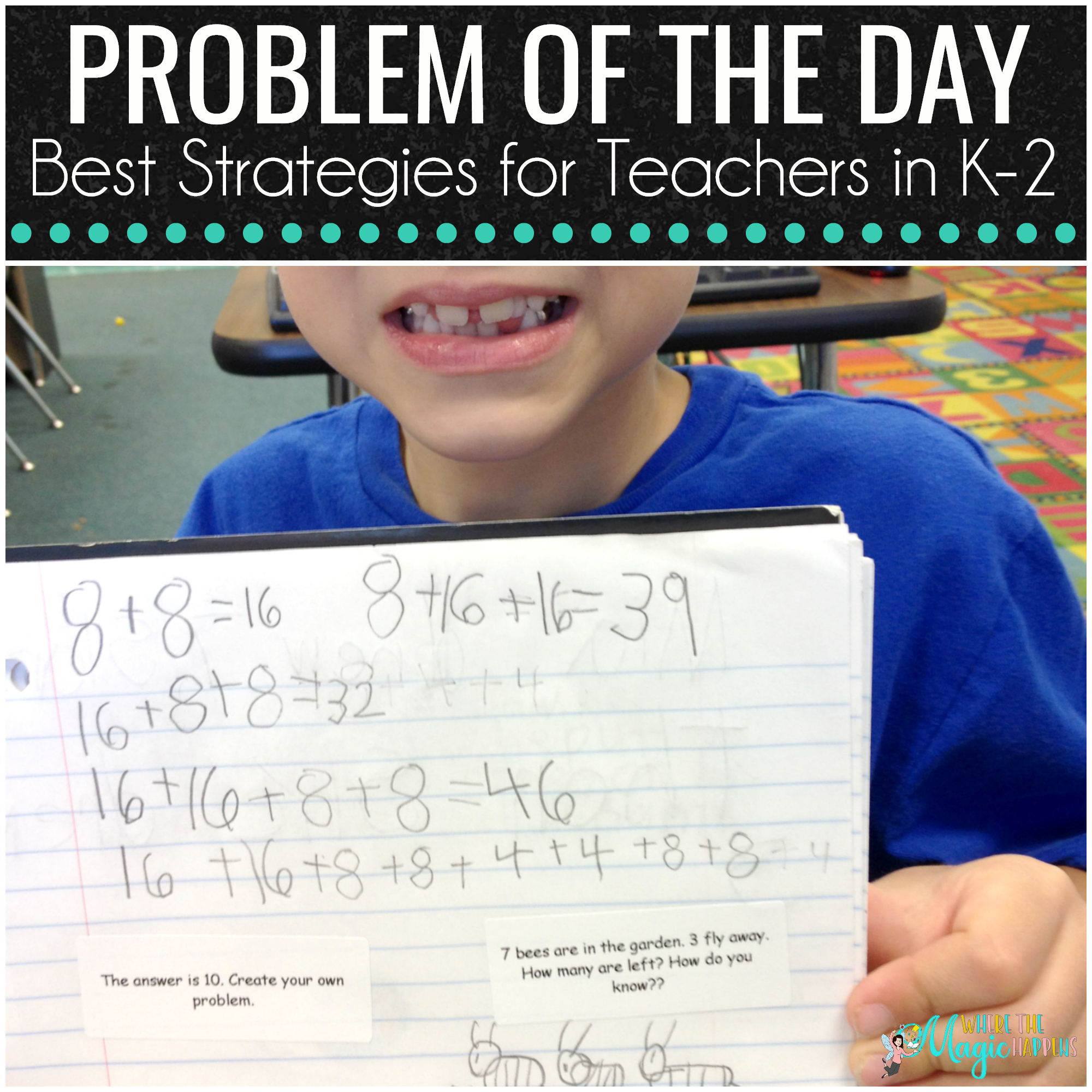 Problem of the Day for Teachers in K-2
