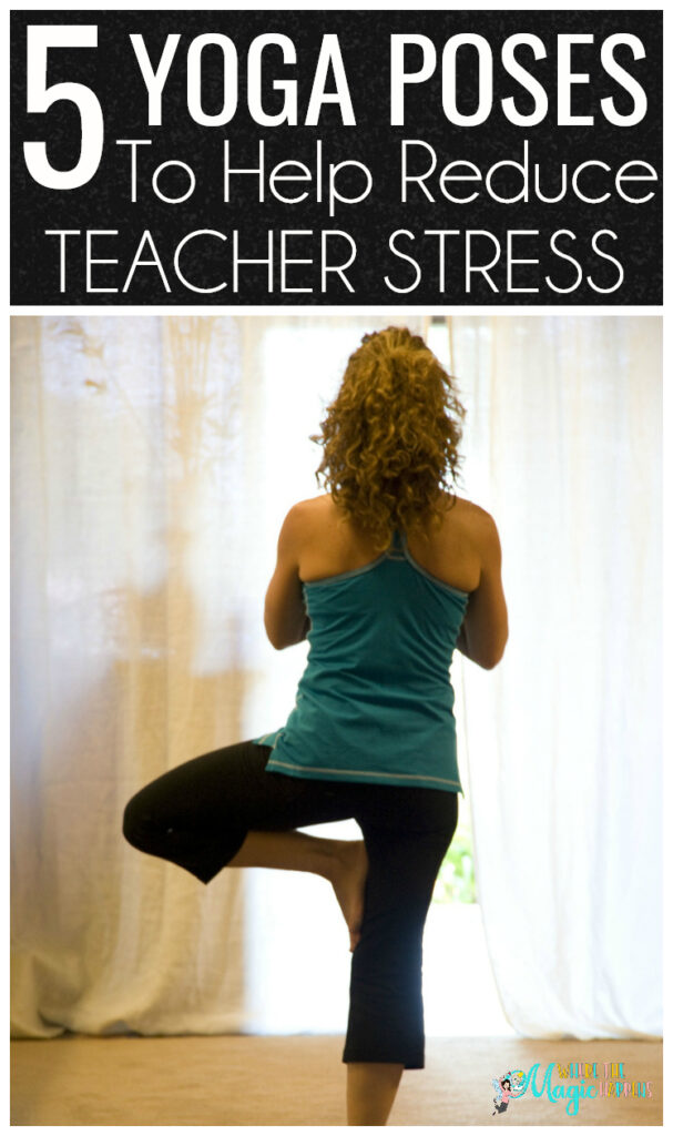 Yoga for teachers in order to reduce stress