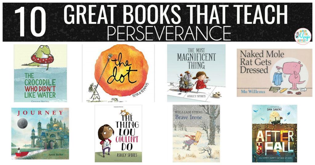 Books that teach perseverance
