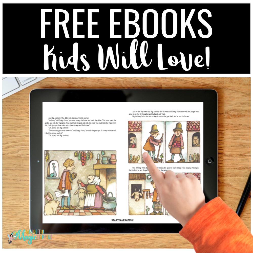 Free eBooks Kids Will Love