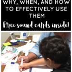 Effective ways to use Elkonin Boxes