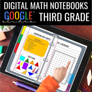 Digital Notebooks for 3rd Grade