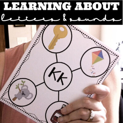 Learning About Letters and Sounds