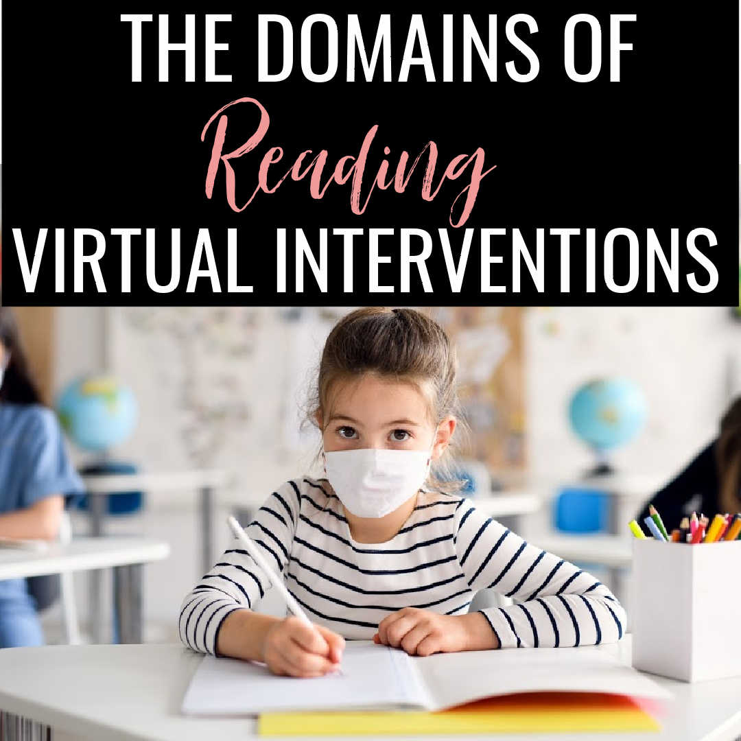 The Domains of Reading and Online Interventions