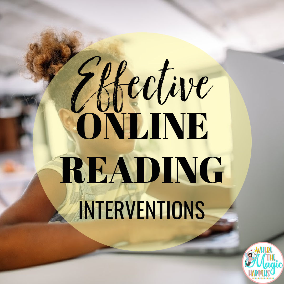 Effective Online Reading Interventions