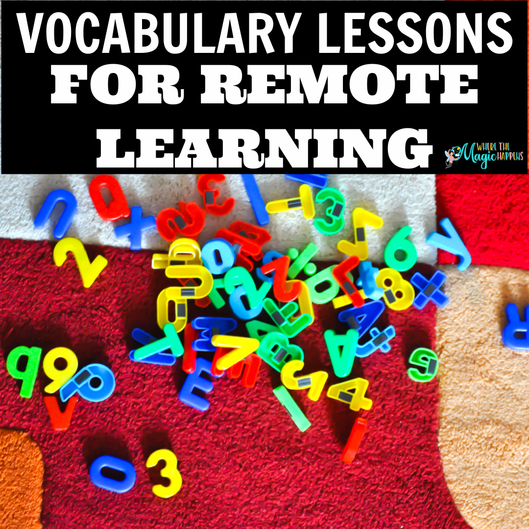 Vocabulary Activities for Remote Learning