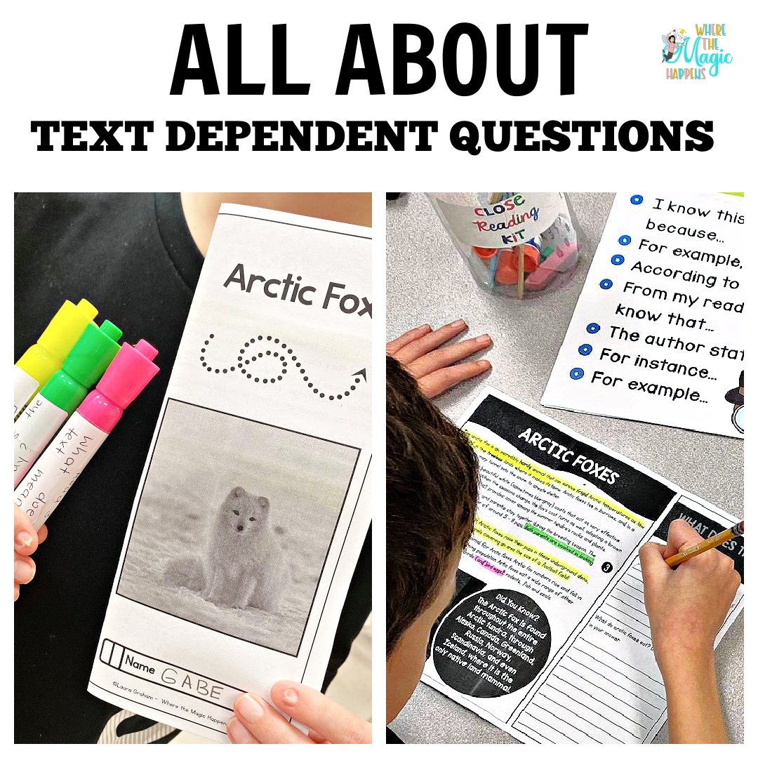 All About Text Dependent Questions