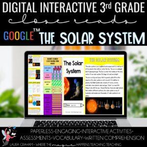 solar system digital close reading
