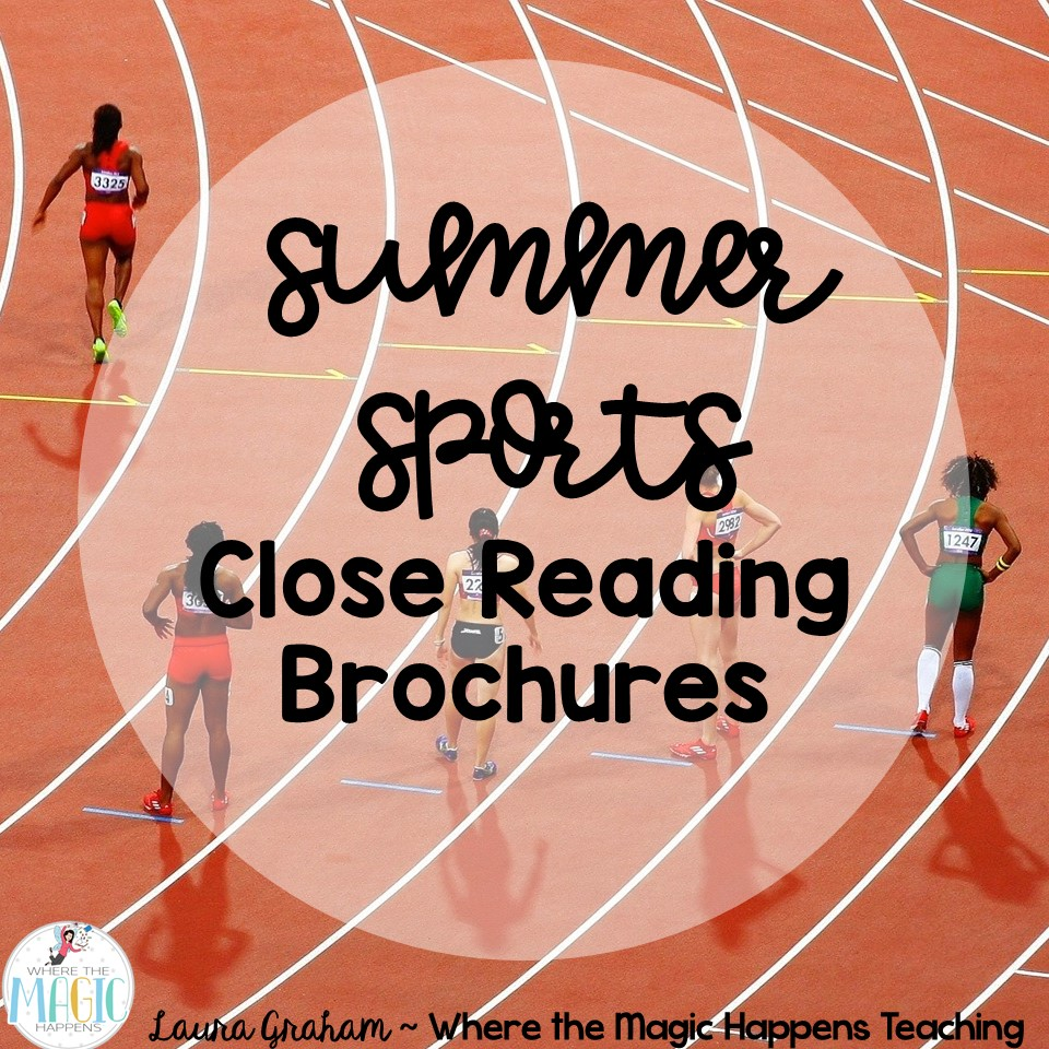 Summer Sports Close Reading