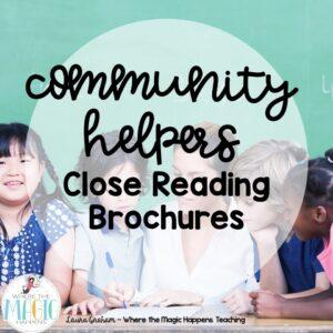 Community helpers close reading