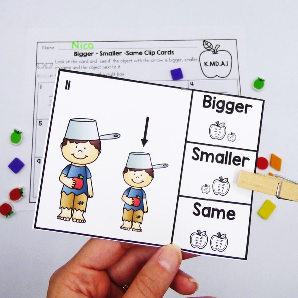 September math centers for Kindergarten