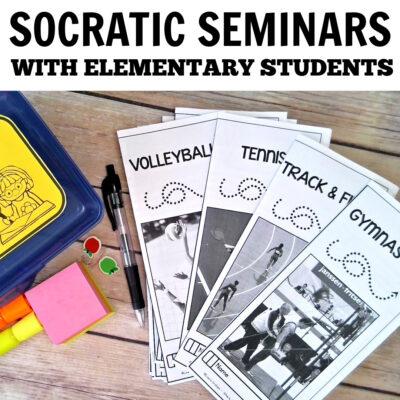 Socratic Seminars for Elementary Students